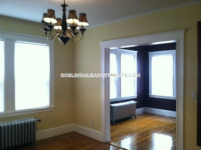 Roslindale Apartment for rent 3 Bedrooms 1 Bath Boston - $2,300