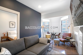 Back Bay (--NO FEE--)(--VIRTUAL TOUR IN AD--) Sparkling 1 Bed, Modern Updates, Laundry In Unit Boston - $2,350 No Fee