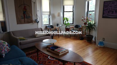 Mission Hill Apartment for rent 4 Bedrooms 1 Bath Boston - $4,000